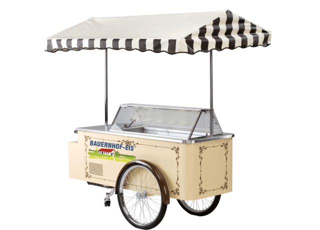 Classic ice cream cart from Farmhouse ice cream